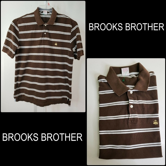 Brooks Brothers Other - Brooks Brothers 346 Men Short Sleeve Stripe Polo